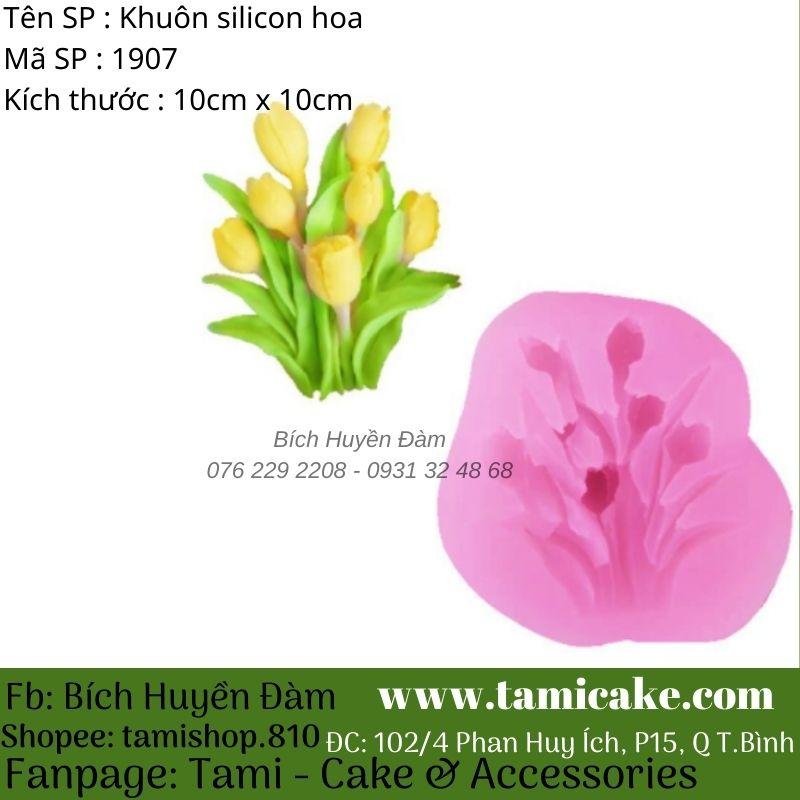 Khuôn silicon hoa 1907