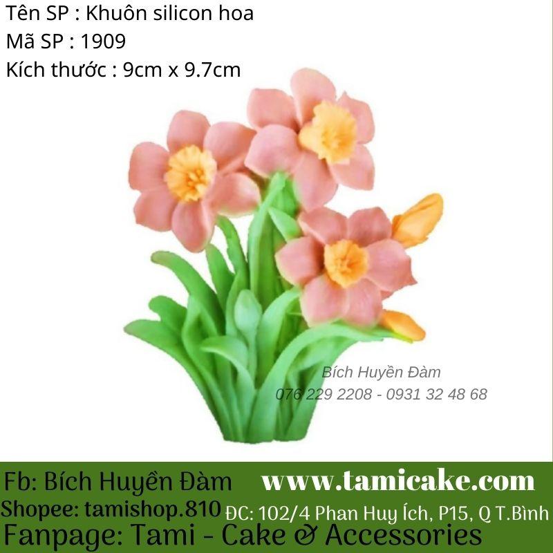 Khuôn silicon hoa thủy tiên 1909