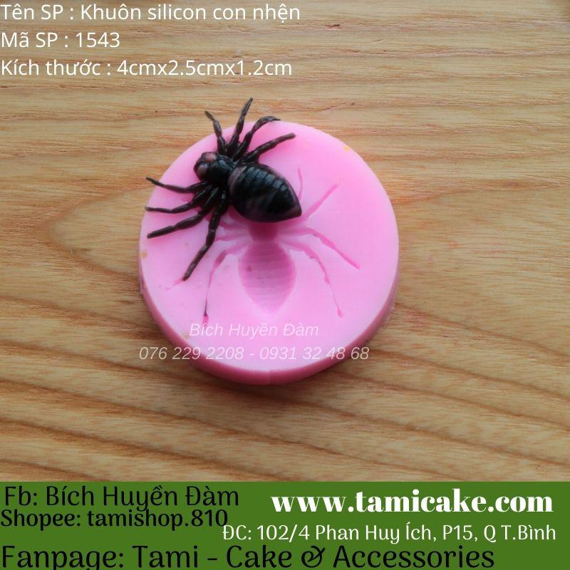 Khuôn silicon con nhện 1543