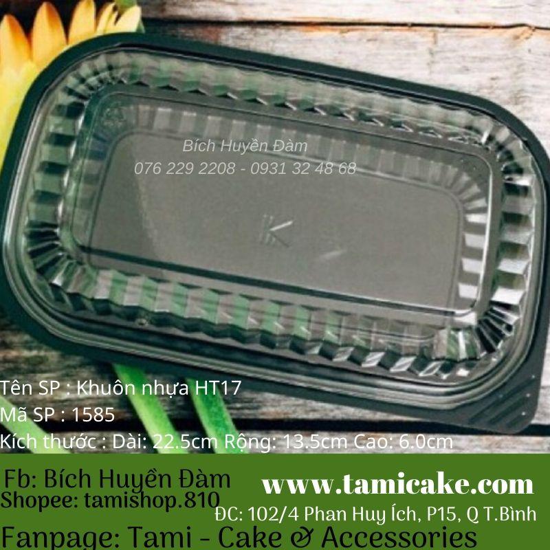 Set 10 hộp nhựa HT17 đựng thực phẩm