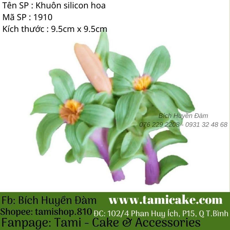 Khuôn silicon hoa 1910