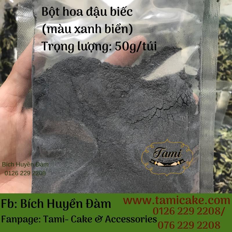 Bột Màu Tự Nhiên- Bột Hoa Đậu Biếc (50g)