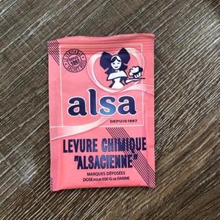 Bột nổi (bột nở) làm bánh ALSA Pháp - Gói 11gr