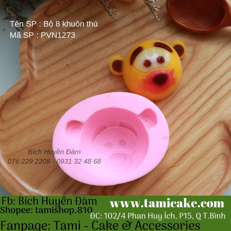 Bộ 8 khuôn silicon Tsum PVN1273