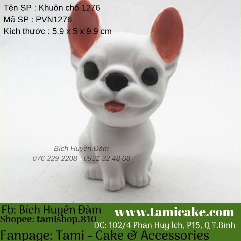 Khuôn silicon hình chó PVN1276