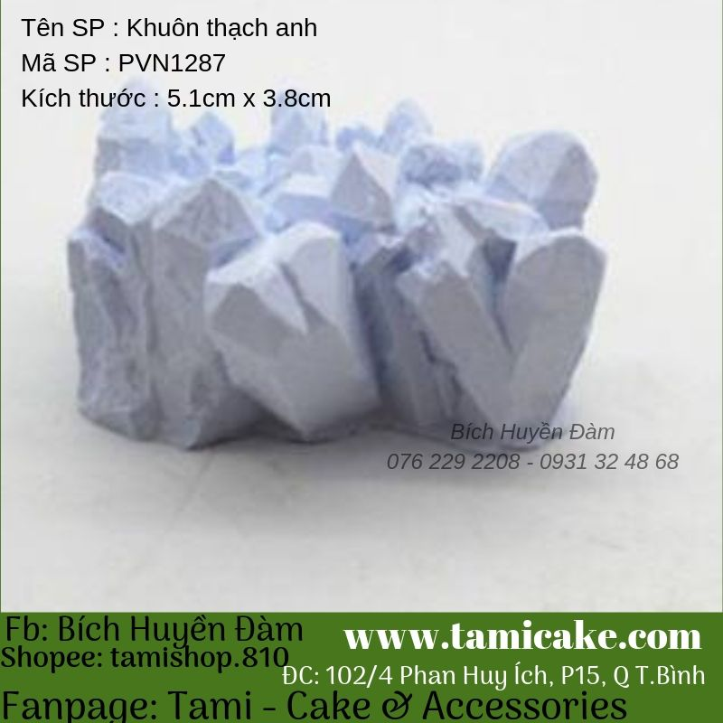 Khuôn silicon thạch anh PVN1287
