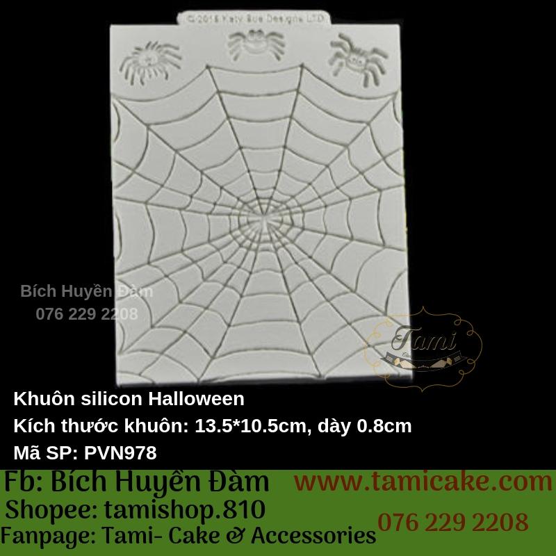 Khuôn silicon Halloween - PVN978