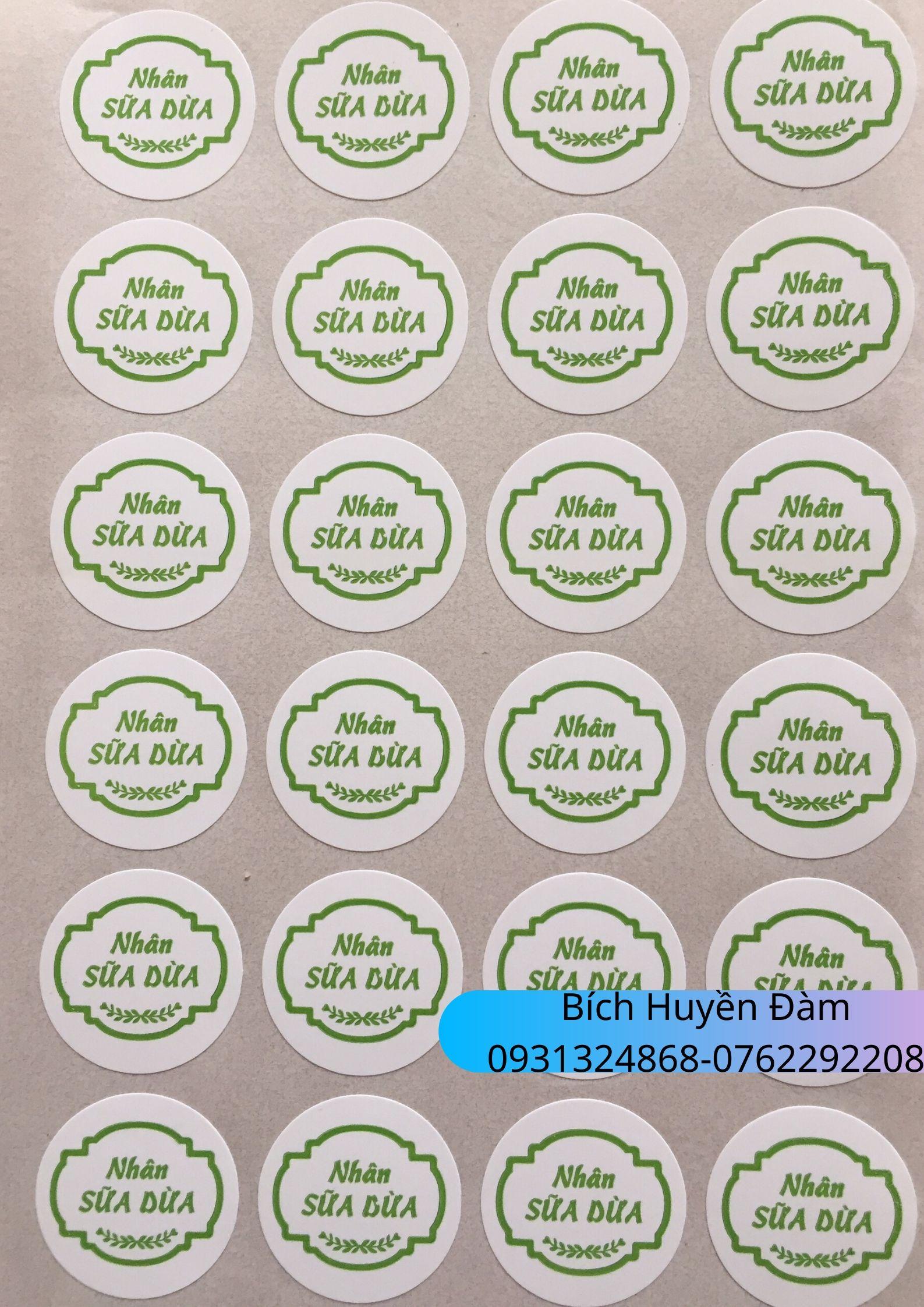 Tem Nhân Bánh Trung Thu 2020 - Sữa dừa 03