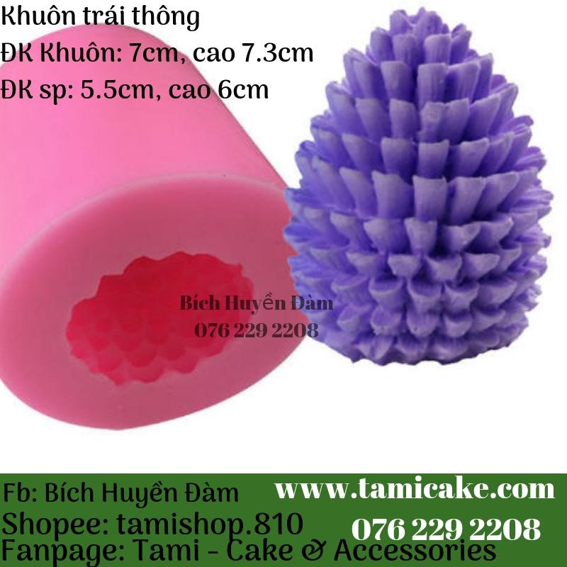 Khuôn silicon- Khuôn trái thông PVN992
