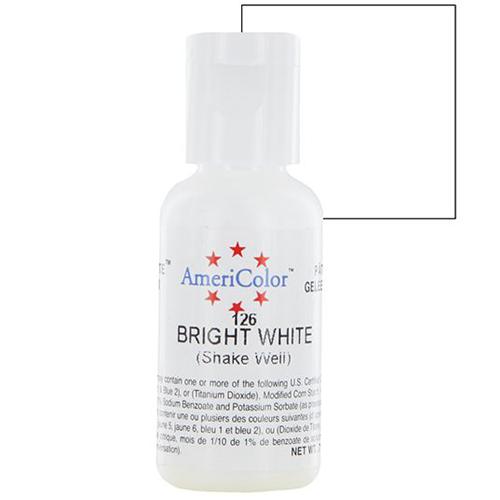 Màu Trắng AmeriColor Bright 0.75oz(21g)