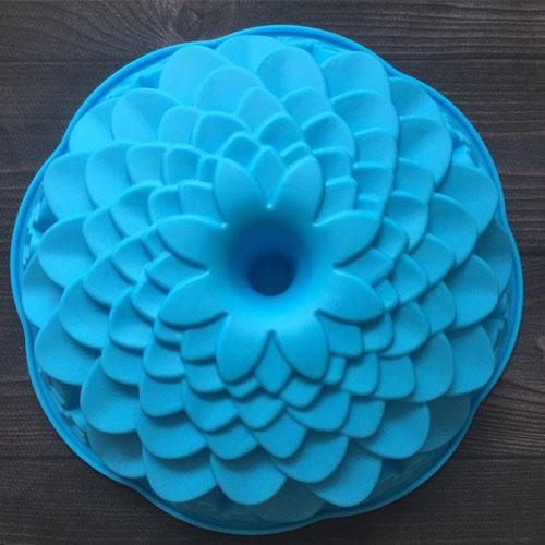 Khuôn Silicon 4D Rau Câu Hoa Nổi - Khuôn Hoa Vạn Cánh