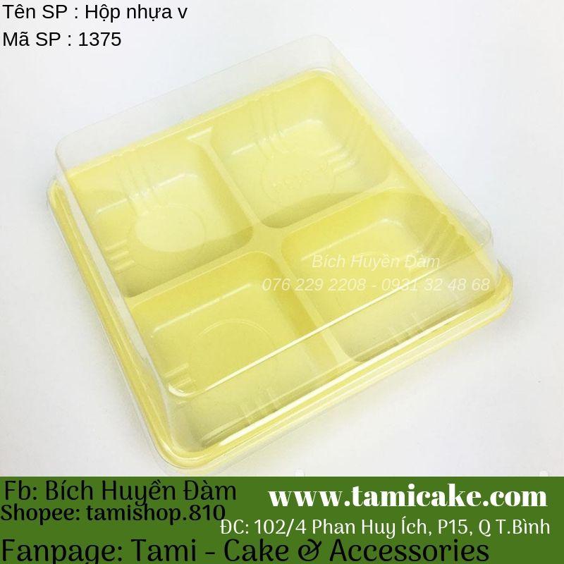 Set 50 hộp nhựa 4 bánh 50gr-65gr