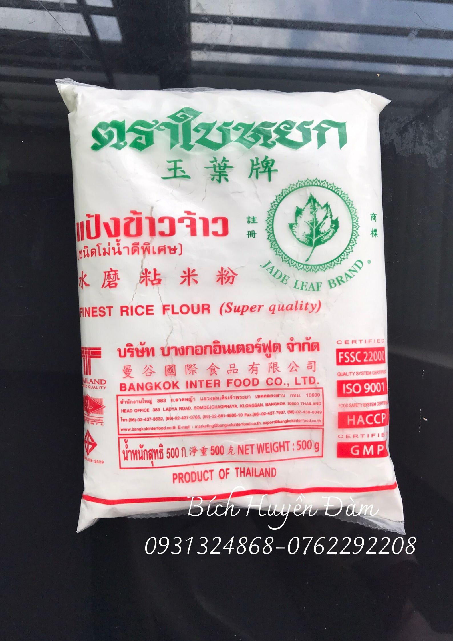 Bột gạo tẻ Thái Lan gói 500gram
