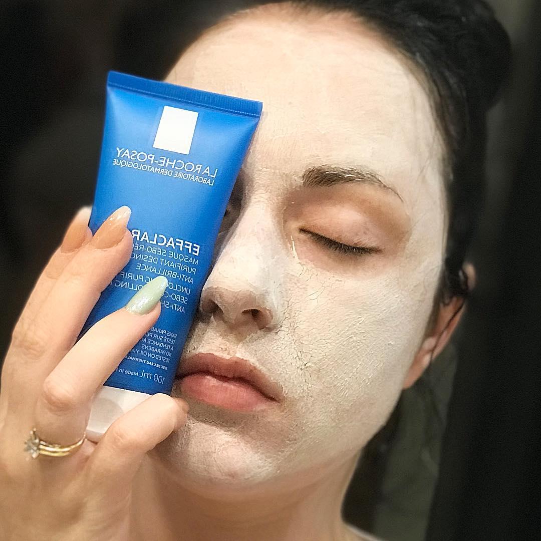 Mặt nạ bùn làm sạch da, giảm mụn Effaclar Sebo Mask 100ml   EVASHOP.COM.VN