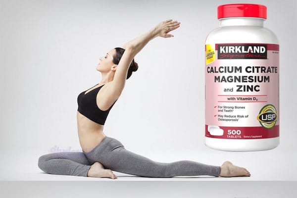 Viên Uống Bổ Khớp Kirkland Calcium Citrate Magnesium and Zinc