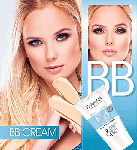 Kem nền trang điểm BB Cream 7 in 1 Light 01 Farmasi 50ml