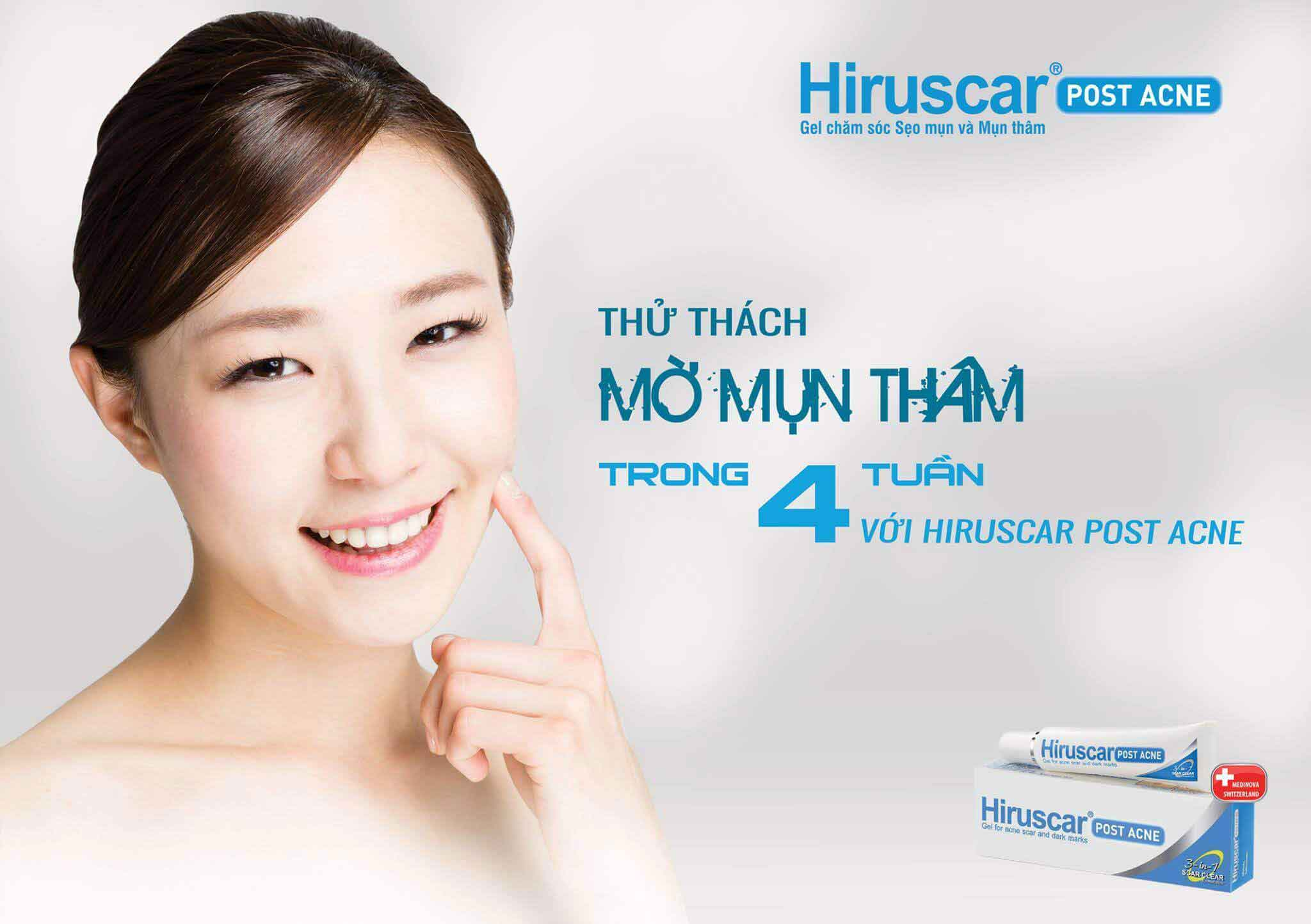 Hiruscar Post Acne Gel 5g
