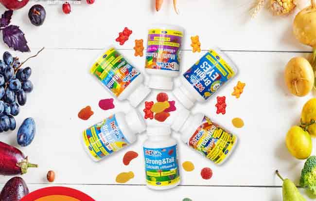 Kẹo nhai bổ sung vitamin và khoáng chất cho bé gái PN Kids