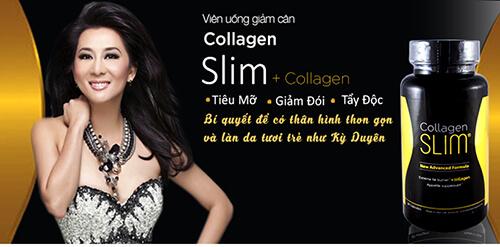 Collagen Slim - Bí quyết giảm cân của Kỳ Duyên | EVASHOP.COM.VN