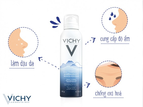Mineralizing Thermal Water Vichy