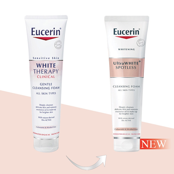 Eucerin Ultra White+ Spotless Cleansing Foam