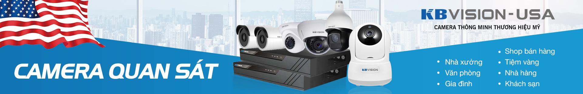 Bộ Camera Kbvision gia đình 2.0 Megapixcel