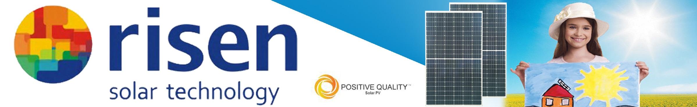 Tấm pin năng lượng mặt trời Risen Solar chính hãng