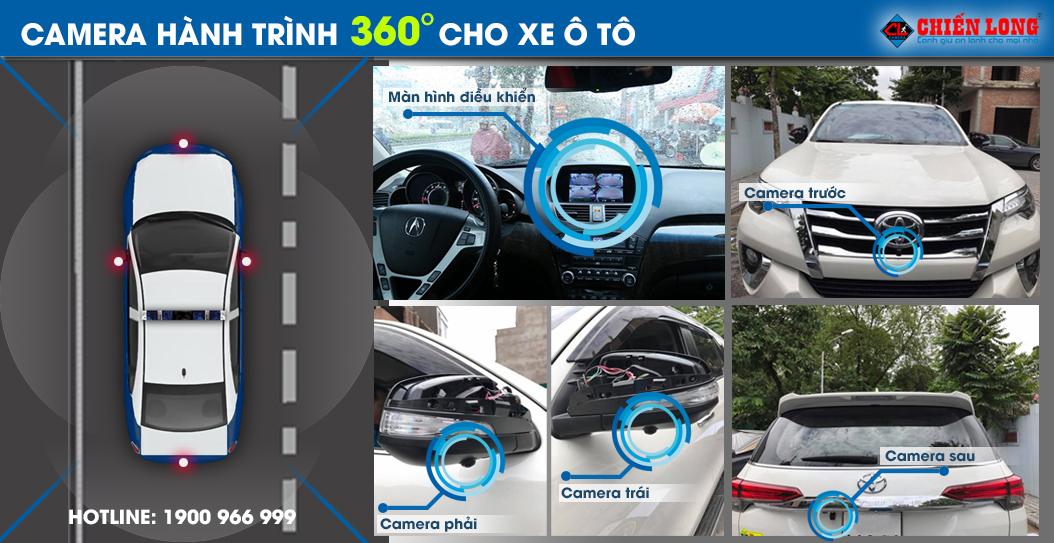 Lắp đặt camera 360 panorama cho xe ô tô, xe hơi - 2