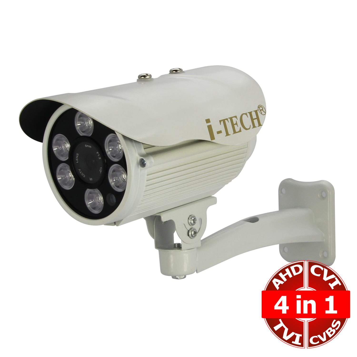 Camera AHD 4 in 1 iTech-X6VI