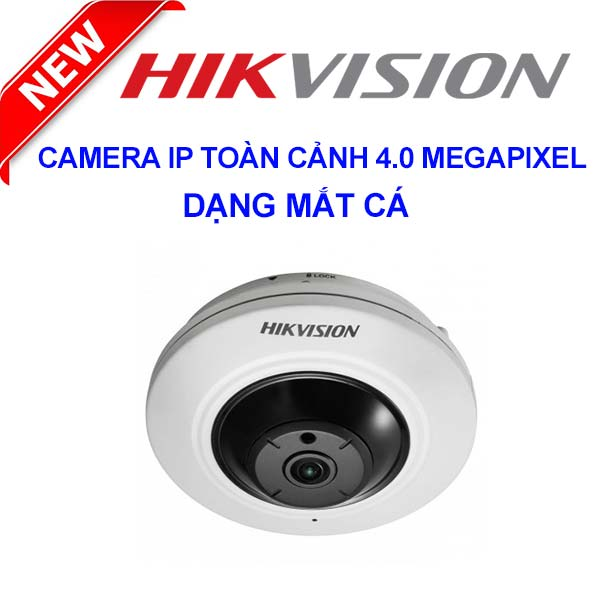 Camera IP  360º HIKVISION DS-2CD2942F-I 4.0 Megapixel (4.0 Megapixel)