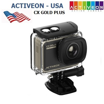 Camera Hành Động Activeon CX Gold Plus