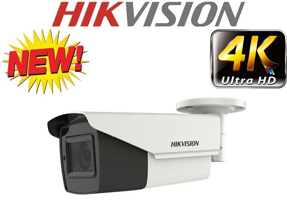 Camera HD-TVI 4K 8.0 Megapixe Hikvision DS-2CE19U1T-IT3ZF