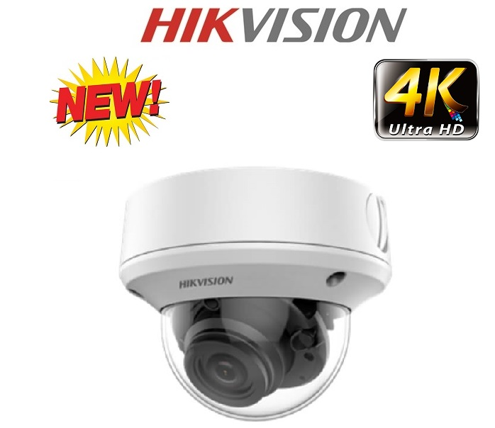 Camera HD-TVI 4K 8.0 Megapixe Hikvision DS-2CE79U1T-IT3ZF