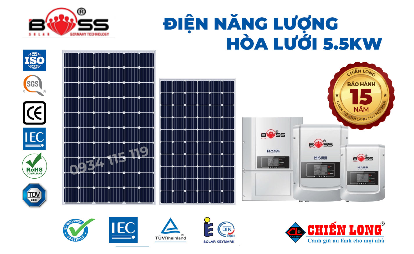 Hệ thống điện mặt trời giúp đem đến cho người mua sự lòng lúc sử dụng. Dien-nang-luong-mat-troi-hoa-luoi-5-5kwp