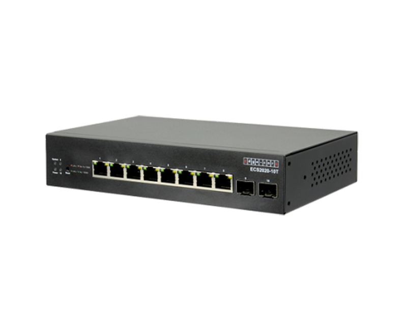 Switch PoE 8 port EdgeCore ECS2020-10T