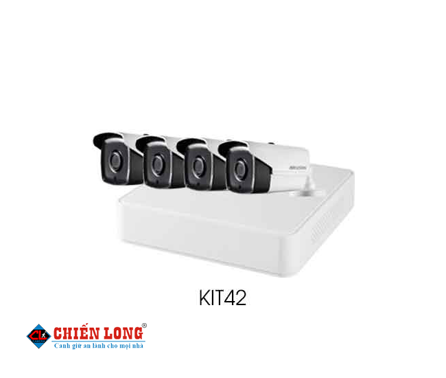 BỘ KIT CAMERA IP HIKVISION KIT42