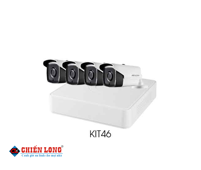 BỘ KIT CAMERA IP HD1080P HIKVISION KIT46