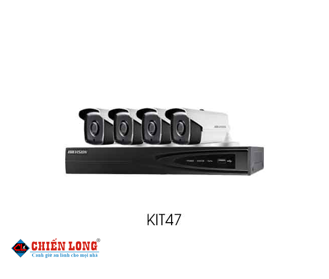 BỘ KIT CAMERA IP HD1080P HIKVISION KIT47