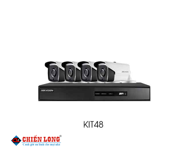 BỘ KIT CAMERA IP HD1080P HIKVISION KIT48