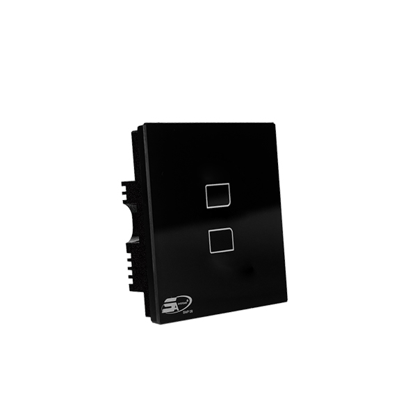 SMART SWITCH SWP08 - 2 LOOP BLACK