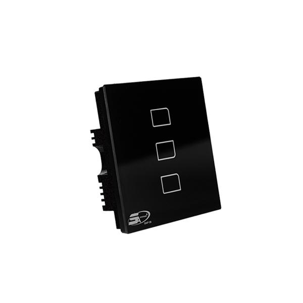 SMART SWITCH SWP08 - 3 LOOP BLACK