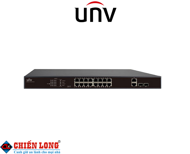 Switch POE 16 cổng UNV NSW2010-16T2GC-POE-IN