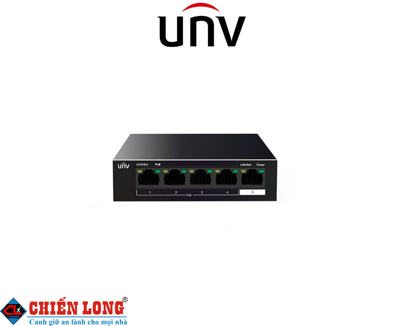 Switch POE 4 cổng UNV NSW2010-5T-POE-IN