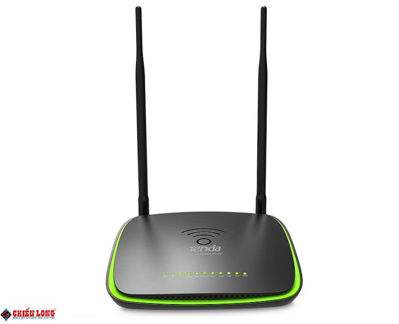 300Mbps Wireless ADSL2+ Router TENDA DH301