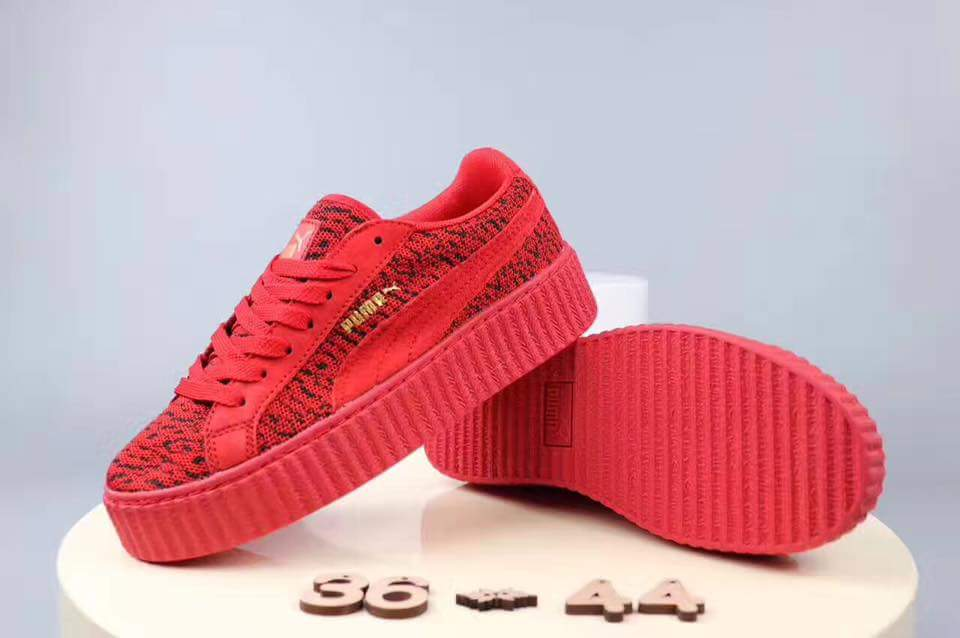 Giày thể thao Rihanna Suede Creeper