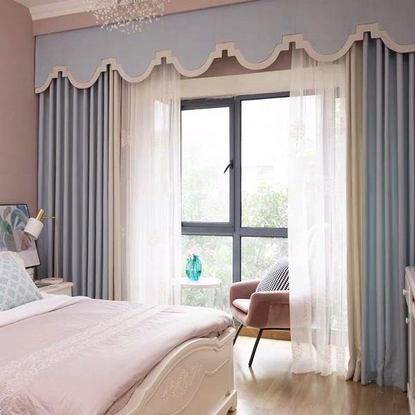 Lựa chọn rèm cửa phù hợp với phong cách ngôi nhà Rem-biet-thu-dep-4