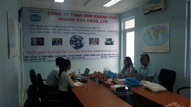 Khanh VUA Welcomes Mr. Murtaza – A Business Manager from India