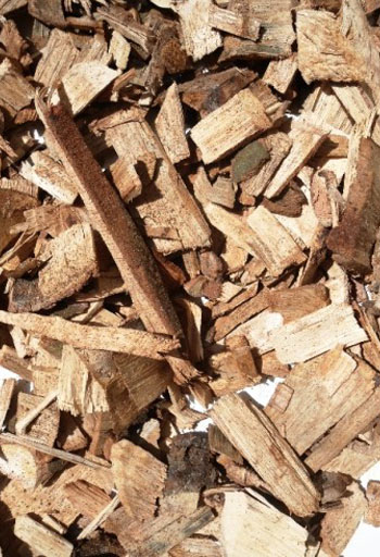 Rubber wood chips