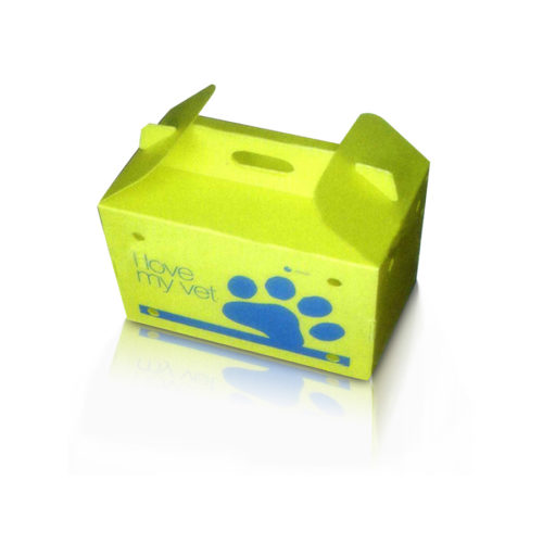 Yellow color Danpla box
