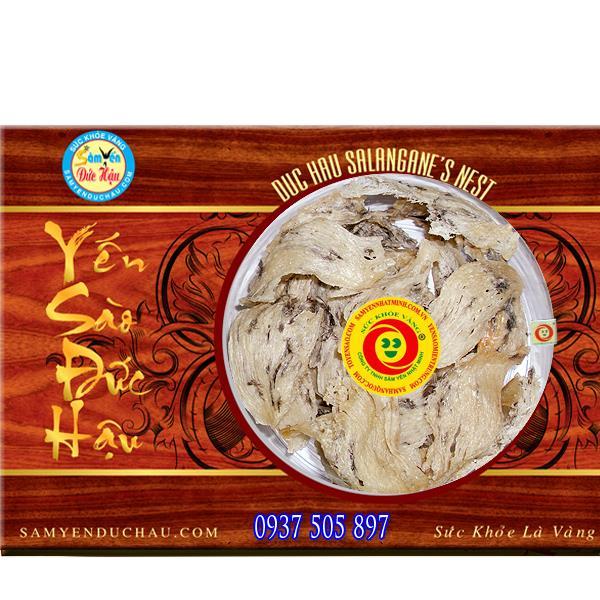 TPCN: Tổ Yến Sào Trắng Bể Lớn ít lông (YEN25)